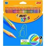 مداد رنگی 24 رنگ بیک
