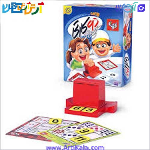 بازی فکری دو کارتی ریاضی بازی تا