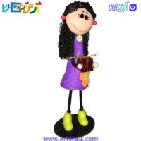 تصویر عروسک سوزی طرح هدیه