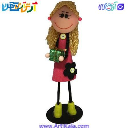 تصویر عروسک سوزی مو طلایی