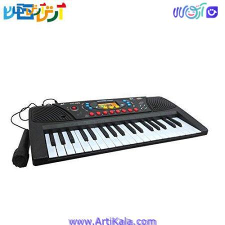 تصویر بازی صفحه کلید پیانو electronic keyboard ms-005
