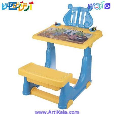 تصویر میز تحریر کودک مدل APZ Toys Learning Desk Baby Table