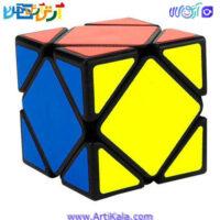 تصویر روبیک اسکوب مویو وای جی YongJun GuanLong Skewb Magic Cube Black