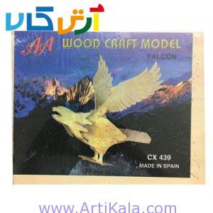 تصویر پازل 3 بعدی چوبی عقاب کوچک