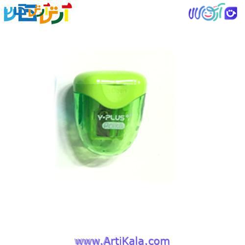 تصویر تراش مخزن دار مدل Y-Plus Polka سبز
