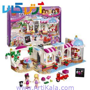 تصویر لگو friends مدل Friends Heartlake Cupcake Cafe Building Set