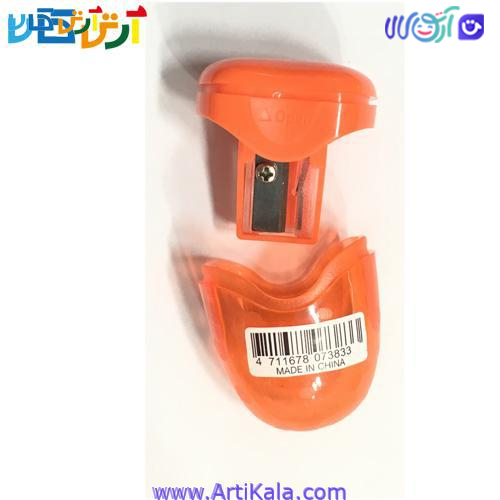 تصویر تراش مخزن دار مدل Y-Plus Polka نارنجی