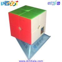 تصویر روبیک 2*2 خودرنگ مدل Moyu MF2S Speed Cube