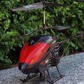 تصویر هلیکوپتر کنترلی LH-1301 قرمز