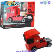 لگو ماشین عقب کش RACING مدل کامیون