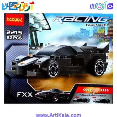 لگو ماشین عقب کش RACING مدل فراری