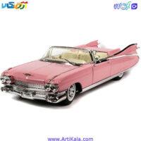 تصویر ماشین فلزی کادیلاک مدل 1959