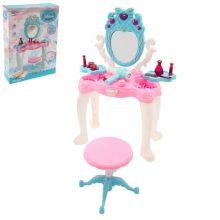 ست میز لوازم آرایشی با صندلی دخترانه