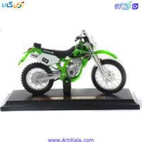 موتور فلزی MAISTO مدل Kawasaki KX250