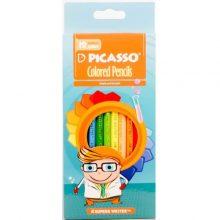 مداد رنگی 12 رنگ پیکاسو PICASSO