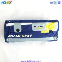 تصویر جامدادی دو زیپ مدل Miami Heat