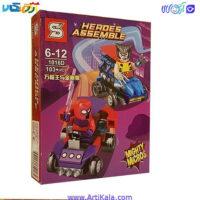 تصویر لگو ولوورین و دکتر استرنج مدل Heroes Assemble 1016D
