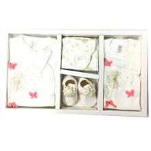 لباس نوزادی 9 تکه جعبه دار دانالو طرح قاصدک