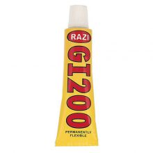 چسب سیلیکونی 30 میلی لیتری رازی RAZI GI200