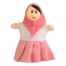 عروسک نمایشی خانم مدل شادی رویان