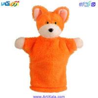 تصویر عروسک نمایشی روباه مدل شادی رویان