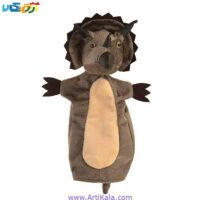 تصویر عروسک نمایشی دایناسور ماقبل تاریخ مدل شادی رویان