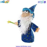 تصویر عروسک نمایشی جادوگر مدل شادی رویان