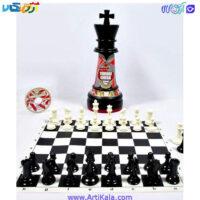 تصویر شطرنج ترنج طرح مهره شاه