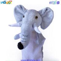 تصویر عروسک نمایشی فیل مدل شادی رویان