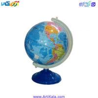 تصویر کره 20 پایه فلزی نقش جهان