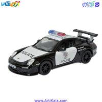 تصویر ماشین فلزی پورشه پلیس مدل Porsche 2010 GTS 911 RS
