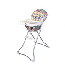 صندلی غذای کودک دلیجان طرح چهار خونه رنگی مدل CUTE