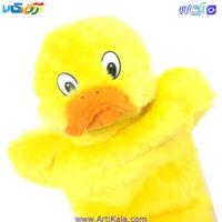تصویر عروسک نمایشی گلدونه مدل جوجه اردک