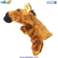 تصویر عروسک نمایشی گلدونه مدل اسب