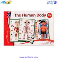 تصویر پازل بدن انسان THE HUMAN BODY