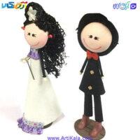 تصویر عروسک سوزی مدل عروس و داماد