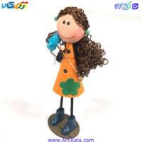 تصویر عروسک سوزی مدل گل به دست