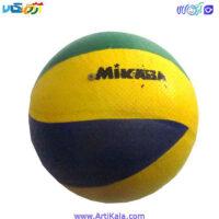 تصویر توپ والیبال لاستیکی مدل MIKABA
