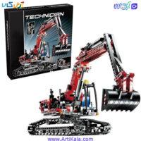تصویر لگو تکنیکال بیل مکانیکی مدل Lepin 20025 Technic Excavator