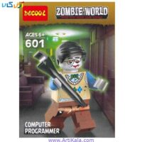 تصویر لگو زامبی مدل decool 601 Zombie World