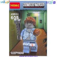 تصویر لگو زامبی مدل decool 605 Zombie World