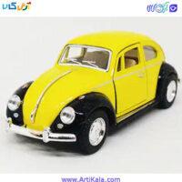 تصویر ماشین فلزی فولکس 1:32 مدل Kinsmart Volkswagen 1967 Classical Beetle