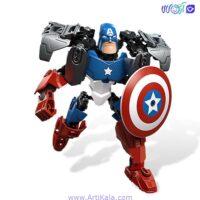 لگو کاپیتان آمریکایی سوپر قهرمانان