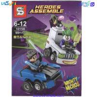 تصویر لگو جوکر و رابین مدل Heroes Assemble 1015b