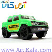 تصویر ماشین اسباب بازی پلاستیکی هامر hummer