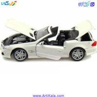 تصویر ماکت ماشین مرسدس بنز مدل Mercedes-Benz SL63 AMG Convertible 1:18