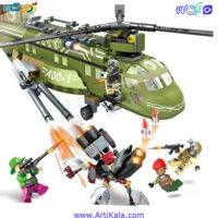 تصویر لگو هلیکوپتر جنگی 11700
