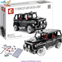 تصویر لگو 1343 قطعه آفرود بنز G500 مدل Off-Road Vehicle G500 Black