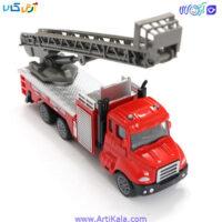 تصویر ماشین فلزی تجهیزات آتش نشانی