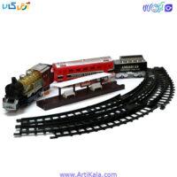 اسباب بازی مدل قطار ریلی 12 قطعه مدل 7019